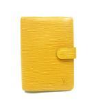 ルイヴィトン LOUIS VUITTON エピ アジェンダPM 手帳カバー 6穴式手帳カバー システム手帳 タッシリイエロー 黄色 R20059