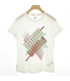 プーマ PUMA 519267-01 グラフィック Tシャツ トップス フィットネス トレーニング 半袖 M ホワイト