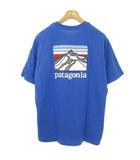 パタゴニア Patagonia 38511 FA20 Line Logo Ridge Pocket Responsibili Tee ロゴ ポケット Tシャツ トップス 半袖 M ブルー