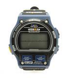 × タイメックス TIMEX 別注 IRONMAN アイアンマン 腕時計 デジタル ネイビー ブラック