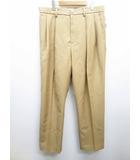 ファセッタズム FACETASM 19SS/WOOL MESH TWO TUCK PANTS  タックパンツ 5 ベージュブランド古着ベクトル 中古190523