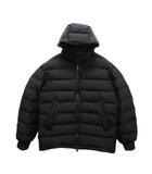 ワイスリー Y-3 Seamless down Hooded jacket フード付き シームレス ダウンジャケット FJ0442 M 黒 ブラック ブランド古着ベクトル 中古 200809 0230