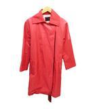 トゥモローランドコレクション TOMORROWLAND collection スプリング コート ジャケット 38 ピンク ブランド古着ベクトル 中古 ●200907 0010
