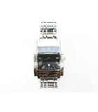 バーバリー BURBERRY スクエア ヘリテージ  BU1555 クオーツ 腕時計 時計 ステンレススチール 銀 シルバー ブランド古着ベクトル 中古 ▲ 200925 0055