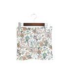 ポール&ジョー PAUL&JOE 未使用 箱つき はらまき 腹巻 インナー コットン 綿 イラスト 花柄 L ホワイト 白 /P34 SSAW