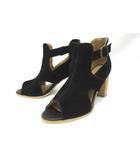 コムサイズム COMME CA ISM パンプス ヒールサンダル 靴 シューズ 23.5 黒 ブラック /Z