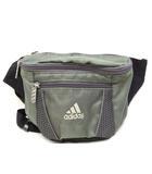 アディダス adidas ウエストバッグ ポーチ ボディバッグ カーキ 鞄 /ZT10