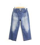 クラネ CLANE 未使用 タグ付 パンツ デニム ジーンズ アンクル丈 カジュアル 24 ブルー 青 /C656