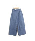 クラネ CLANE 未使用 タグ付 パンツ デニム ジーンズ 変形 スーパーバギー ワイド 26 ブルー 青 /C320b