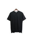 クラネオム CLANE HOMME 未使用 タグ付 Tシャツ カットソー 半袖 シンプル 無地 コットン 綿 丸首 2 ブラック 黒 /C564