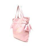 メゾンドリーファー MAISON DE REEFUR トートバッグ リボン ピンク 鞄 /Z
