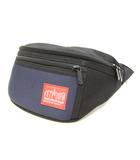 ca065aad7d83 マンハッタンポーテージ Manhattan Portage 美品 ウエストバッグ ボディバッグ コーデュラ 黒 ブラック 鞄 /Z