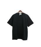 クラネオム CLANE HOMME 未使用 タグ付 Tシャツ カットソー 半袖 鹿の子 ダンボールニット シンプル 無地 1 ブラック 黒 /C556