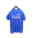 チャンピオン CHAMPION Tシャツ カットソー プリント 半袖 160 青 ブルー /ZT1