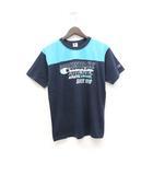 チャンピオン CHAMPION Tシャツ カットソー プリント 半袖 160 紺 ネイビー /ZT3
