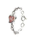 ヴィヴィアンウエストウッド Vivienne Westwood 腕時計 ウォッチ ブレスレット型 ハートモチーフ チェーン /Z