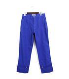 ドレステリア DRESSTERIOR 未使用 タグ付 LE TiROiR パンツ ワークパンツ チノ 裾ボタン コットン 綿 M ブルー 青 /Hn651