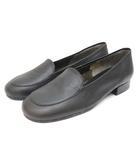 イヴサンローラン YVES SAINT LAURENT パンプス 靴 シューズ ローヒール 341/2 黒 ブラック /ZT1
