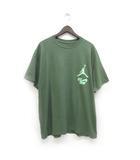 ナイキ NIKE 美品 トラヴィス スコット Travis Schott ジョーダン Tシャツ プリント 半袖 XL 緑 オリーブ /Z