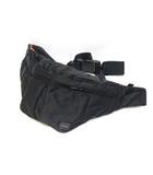 ポーター PORTER ウエストバッグ ボディバッグ タンカー 黒 ブラック 鞄 /Z