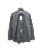 ヒロココシノ HIROKO KOSHINO HOMME ワイシャツ ドレスシャツ 長袖 LL ダークグレー /ZB