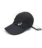 アシックス asics ランニングUVクロスキャップ 帽子 黒 ブラック /Z