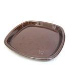 ボウルガーデン bowlgarden メゾンブランシュ maison blanche イエム スタッキングスクエアプレートM ブラウン 食器 お皿 /Z