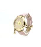 ヴィヴィアンウエストウッド Vivienne Westwood 美品 腕時計 ウォッチ オーブチャーム ピンク /Z