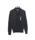 ユニクロ UNIQLO AND LEMAIRE セーター ニット ショールカラー 長袖 M 黒 ブラック /Z