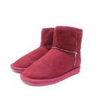 ロペピクニック ROPE Picnic ショートブーツ フェイクムートンブーツ 靴 シューズ L 赤 レッド /Z