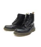 ドクターマーチン DR.MARTENS 美品 8ホールブーツ レザー 靴 シューズ UK9 黒 ブラック /Z