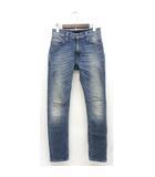 ヌーディージーンズ nudie jeans デニム ジーンズ パンツ D0134 スリム ウォッシュ加工 W28 ライトインディゴ /Z