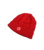 ルイヴィトン LOUIS VUITTON ニット帽 ボネ・コンスタンス M74447 ニットキャップ レッド 赤 ニット 帽子 ロゴ