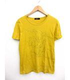 バーバリーブラックレーベル BURBERRY BLACK LABEL ホース ビッグプリント 半袖 Tシャツ 2/A8