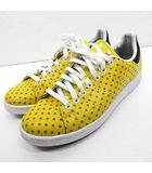 アディダスオリジナルス adidas originals × ファレル・ウィリアムス Pharrell Williams ドット柄 スタンスミス ローカット スニーカー B25402 黄色 イエロー 26cm