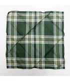 31943a54cfdfe クリスチャンディオール Christian Dior チェック スカーフ 緑 グリーン系