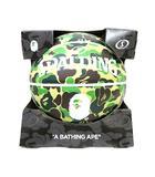 アベイシングエイプ A BATHING APE Spalding ABC Camo Basketball スポルディング カモ迷彩 バスケットボール