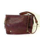 イルビゾンテ IL BISONTE バッグ ボディバッグ ショルダーバッグ レザー ロゴ ブラウン 茶 牛革 かばん 鞄 カバン