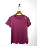 リーボック Reebok SPEEDWICK Tシャツ ドライ メッシュ切替 ロゴ 半袖 M ボルドー トレーニングウェア スポーツウエア