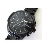 ディーゼル DIESEL 腕時計 メガチーフ DZ-4283 クロノグラフ 黒 ブラック ステンレススチール ウォッチ