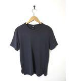 エイチ&エム H&M Tシャツ コットン 半袖 S チャコールグレー 美品
