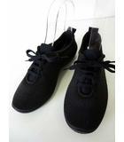ARCOPEDICO アルコペディコ スニーカー ニット シューズ 軽量 37 黒 ブラック 23.5cm 靴 く つ シューズ