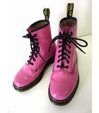 ドクターマーチン DR.MARTENS 1460 ブーツ 8ホールブーツ UK 5 ローズ ピンク 24.0cm レースアップ くつ 靴 シューズ