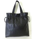 シャネル CHANEL バッグ トートバッグ アンリミテッドライン オール レザー 黒 ブラック かばん 鞄