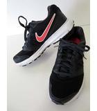 ナイキ NIKE スニーカー ランニングシューズ 軽量 ダウンシフター 23.5 黒 ブラック ピンク 靴 くつ シューズ