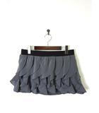 オピュール Oppure スカート パンツ スカパン フリル ミニ M グレー