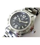 タグホイヤー TAG HEUER 腕時計 プロフェッショナル 200 エクスクルーシブ デイト WN1310 クオーツ ステンレス 黒文字盤 電池交換 オーバーホール済