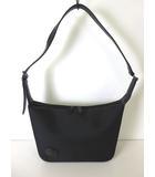 ハンティングワールド HUNTING WORLD バッグ ショルダーバッグ キャンバス レザー ロゴ 黒 ブラック かばん 鞄 カバン