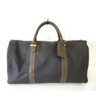 b3d0be2485e6 ダンヒル dunhill バッグ ボストンバッグ 旅行バッグ PVC レザー グレー ブラウン かばん 鞄