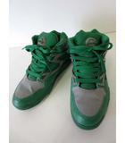 リーボック Reebok ポンプ オムニライト PUMP OMNILITE スニーカー シューズ バッシュ 27.0 グリーン 緑 グレー くつ 靴